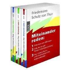 """Schulz von Thun: """"Miteinander reden - Band 1-3"""""""